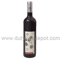Golan Merlot Red Wine  (750 ml.)