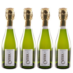 Cattier Champagne Brut (4x200 ml.)
