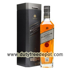 Johnnie Walker Platinum Whisky 1 Lt (with Gift Box)