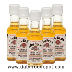 Jim Beam White Whisky Miniatures (5 cl X 5)