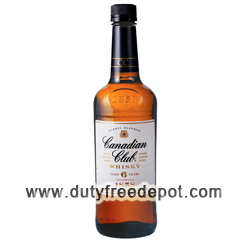 Canadia Club Whisky 6 Years 1 LT