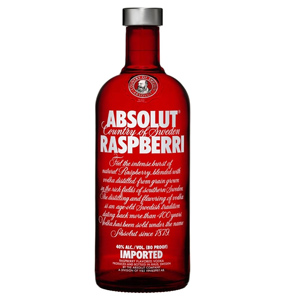 Absolut Raspberry Vodka (1 LT.) 40%