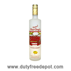 Van Gogh Black Cherry Vodka  75 CL