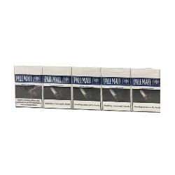 Pall Mall Blue Smooth Taste Cigarettes