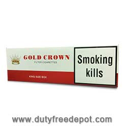 Gold Crown King Size Cigarettes