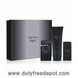 Perry Ellis Night Perfume Set for Men 100 ml  Eau de Toilette  90 ml + Aftershave 78g Deo Stick