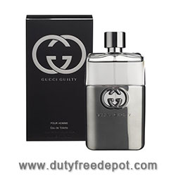 Gucci Guilty Black Eau De Toilette For Men Spray (90 ml./3 oz.)