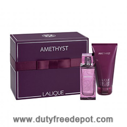 Lalique Amethyst 2013 Mother's Day Set (EdP 100ml,  Shower Gel 150ml)