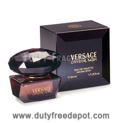 Versace Crystal  Noir Eau De Toilette  Spray   (50 ml./1.7 oz.)