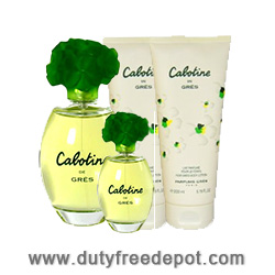 Gres Cabotine Coffret a Coeurs 4 Units (EdT 50ml, Body Lotion 50ml, Shower Gel 50ml, Mini EdP 3.2ml)