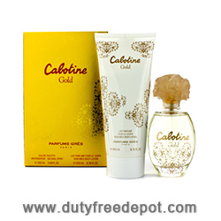 Gres Cabotine Gold Set (EdT 100ml, Body Lotion 200ml)