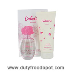 Gres Cabotine Rose Bath Set (EdT 100ml, Body Lotion 200ml)