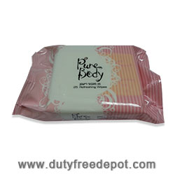 Pure Body Fresh Wipes 25 Unit