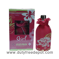 Clayeux Eau De Toilette For Girls (50 ml./1.7 oz.)