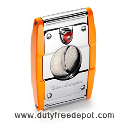 Lamborghini Precision Cigar Cutter - Orange