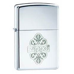 Zippo Lustre HP Chrome lighter (model: 24803)