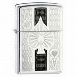Zippo Ace of Spades Lighter (model: 24196)